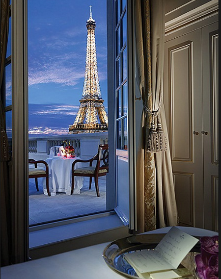 Best luxury paris hotels for Top hotel france